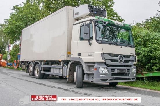 Kühlkoffer LKW Mercedes-Benz Actros 2541LL 6x2 Kühlkoffer Carrier 850
