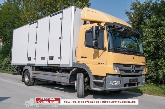 Kühlkoffer LKW Mercedes-Benz Atego 1222L Kühlkoffer V 300 260tkm(!)