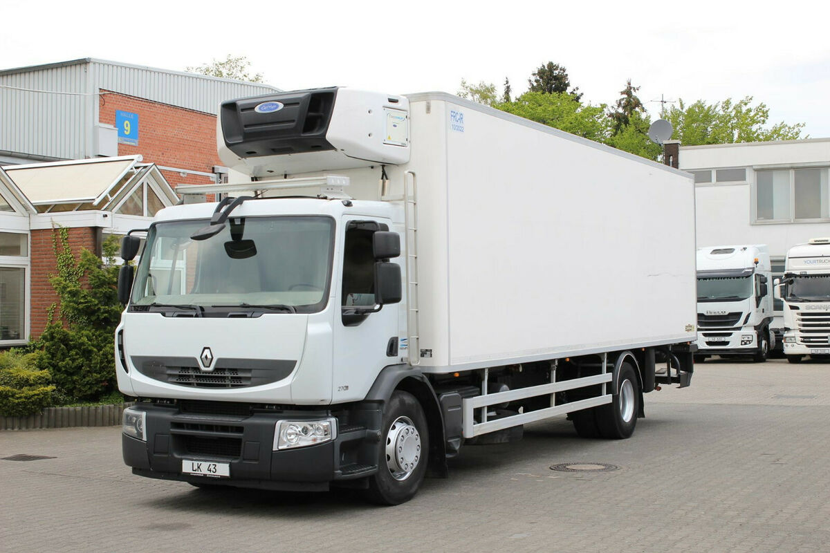 Kühlkoffer LKW Renault Premium 270 DXi E5 /CS 950/Strom/Rolltor/LBW/FRC