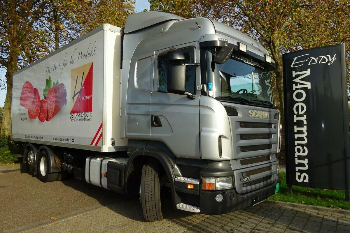 Kühlkoffer LKW Scania R400 Highline 6x2
