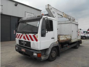 LKW MAN L 84 F (STEEL SUSPENSION / 11.5 METER LIFT): das Bild 1