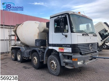 Mercedes-Benz Actros 3235 8x4, Motor defect, Stetter, Steel suspension, Manual, Analoge tachograaf - LKW
