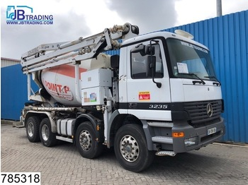 LKW Mercedes-Benz Actros 3235 8x4, Schwing 21 mtr, Pumi, Concrete mixer pump, Stetter, Remote, Steel suspension, Manual, Analoge tachograaf
