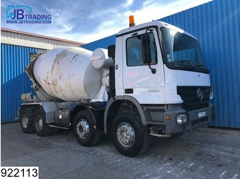 LKW Mercedes-Benz Actros 3236 8x4, EPS 16, 3 Pedals, Liebherr, Steel suspsnsion, 13 Tons alxes, Analoge tachograaf