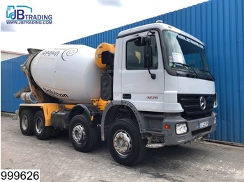 Mercedes-Benz Actros 3236 8x4, Stetter, 9 M3, Manual, Airco, Steel suspension, 13 Tons axles, Hub reduction, Analoge tachograaf - LKW