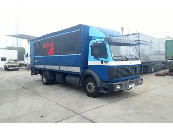 MERCEDES-BENZ 1422 left hand drive 14 ton OM441 tail lift - Plane LKW