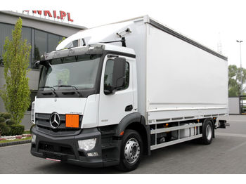 MERCEDES-BENZ ANTOS 1832 E6 TARPAULIN TAIL LIFT 190 000 KM!!! - Plane LKW