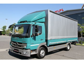 MERCEDES-BENZ ATEGO 824 E5 TARPAULIN CURTAINSIDE 8 THOUS KM!!! NEW! - Plane LKW