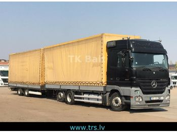 Mercedes-Benz Actros 2541  3pedal  - Plane LKW