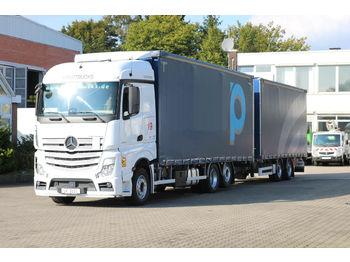 Plane LKW Mercedes-Benz Actros 2545 /Durchlade/JumboZug/Edscha/Liftachse
