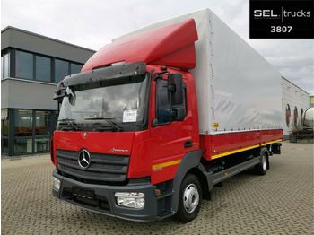 Mercedes-Benz Atego 1018 / Ladebordwand / Air conditioning  - Plane LKW