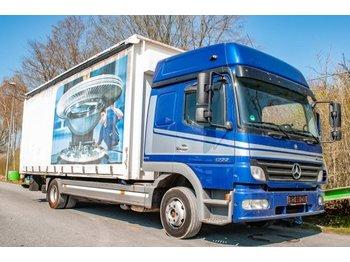 Plane LKW Mercedes-Benz Atego 1222 alter Tacho Pritsche Plane EURO5