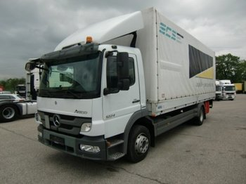 Mercedes-Benz Atego 1224 Plane mit Ladebordwand,  Manual  Euro5 - Plane LKW