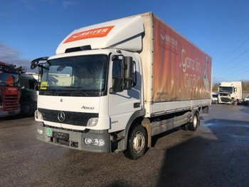 Plane LKW Mercedes-Benz Atego 1224 Plane mit Ladebordwand, Manual, Euro 5
