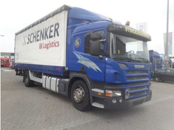 Plane LKW Scania P 230 manual with tail lift