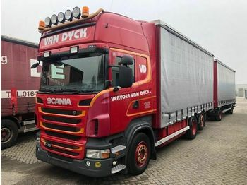 Plane LKW Scania R440 6X2-4 MET 2AS LAG MANUEL+RETRDER