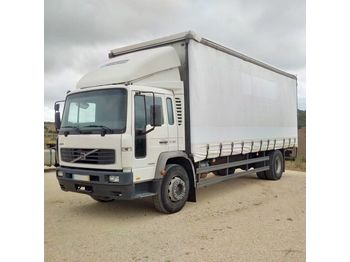 VOLVO FL E19 250 HP left hand drive 19 ton on springs manual pump - Plane LKW