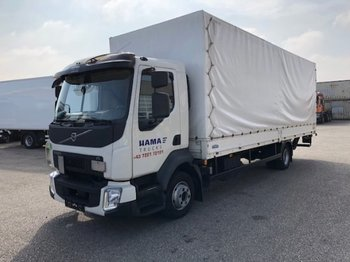 Plane LKW Volvo FL 210 Plane, Manual, E6, Ladebordwand