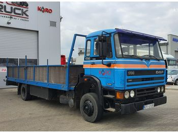 DAF 1700 full Stell, Manual, 7 meter - Plateau LKW