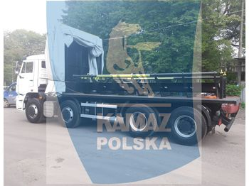 KAMAZ 8x4 for transporting steel coils - Plateau LKW