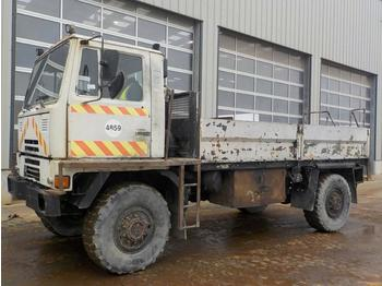 Bedford 4x4 8 Ton Dropside Flat Bed Lorry, Reverse Camera (Registratiion Documents Are Not Available) - Pritsche LKW