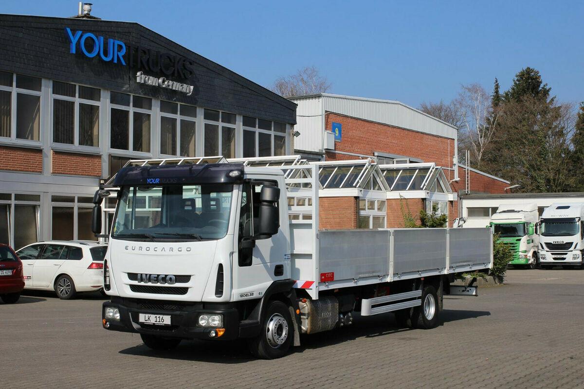 Pritsche LKW Iveco Eurocargo 120EL22 EURO 6 /Pritsche 7m/Klima