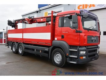 MAN TGA 26.400 6x4 Atlas Terex TLC 165.2 11 m=1.5 to - Pritsche LKW