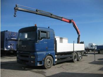 Pritsche LKW  MAN - TGA 26.430 LL FASSI F150A.23