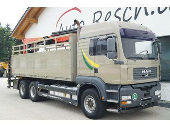 Pritsche LKW MAN TGA 26.480 mit Palfinger Kran 24001L Performanc