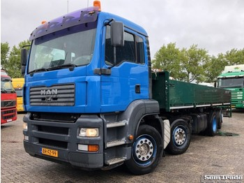 MAN TGA 350 PK 8X2-4BL EURO 3 MANUAL GEARBOX HOLLAND TRUCK - Pritsche LKW