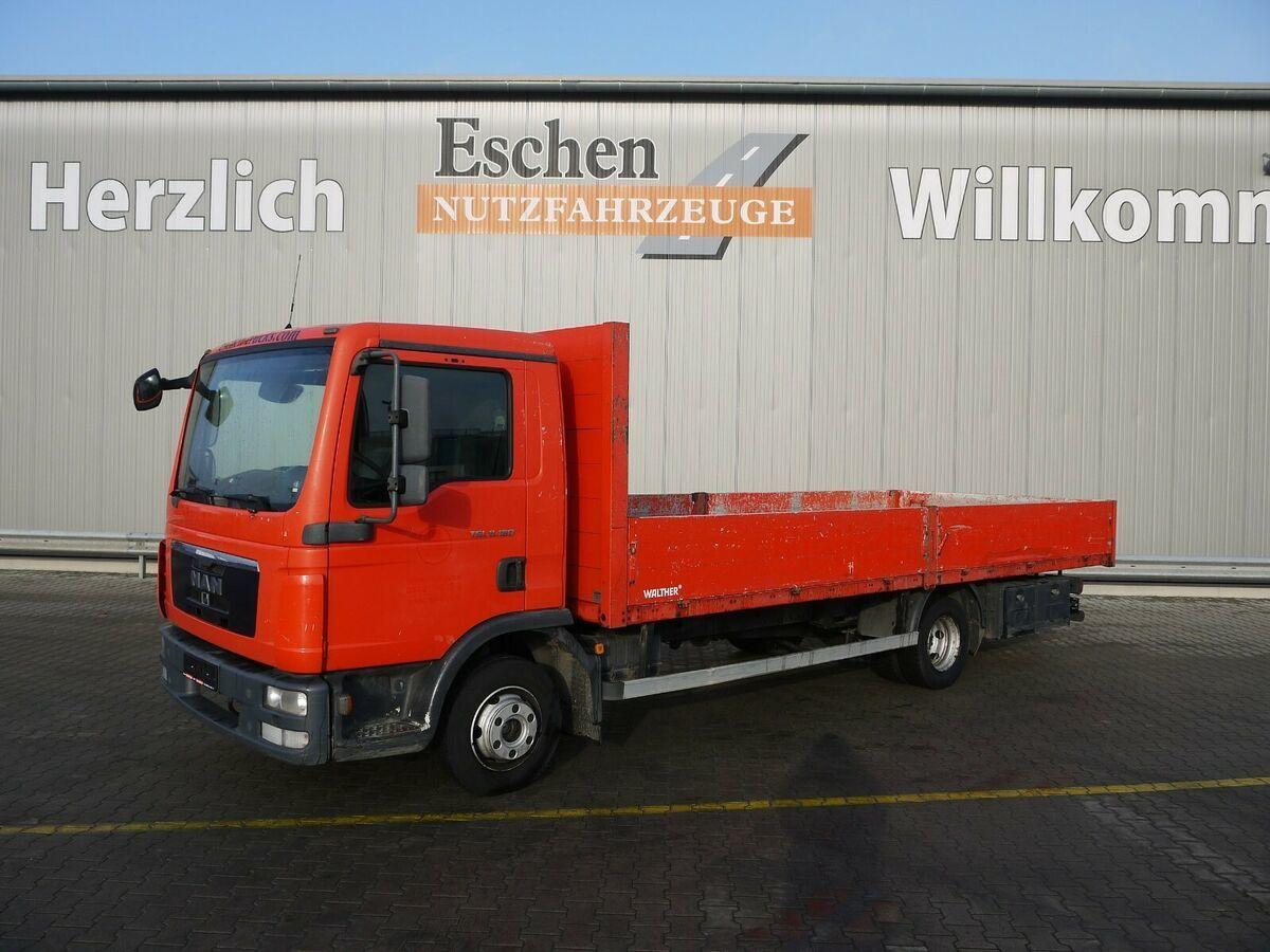 Pritsche LKW MAN TGL 8.180 4x2BL Pritsche, 3 Sitze, AHK, Schalter