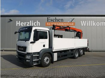 Pritsche LKW MAN TGS 26.400 6x2LL, PK 21001 L,Lift/Lenk, UVV 3/21