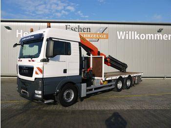 Pritsche LKW MAN TGX 26.440 6x4,PK53002-SHD Falt, Funk, TwistLock
