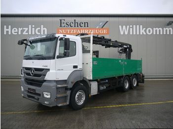 Pritsche LKW Mercedes-Benz 2536 4x2 L Axor, Atlas 165.2, Lift/Lenk, EUR5