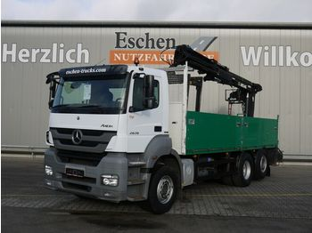 Pritsche LKW Mercedes-Benz 2536 L Axor 6x2, Atlas 165.2 V-A12, Lift/Lenk