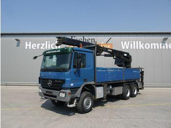 Pritsche LKW Mercedes-Benz 3341, 6x6, Blatt, Pritsche MKG HLK 331 Kran,Funk