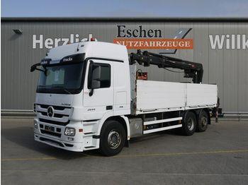Pritsche LKW Mercedes-Benz Actros 2544 L MP3 6x2 Lift/Lenk, HIAB 166 K PRO