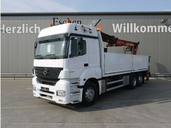 Pritsche LKW Mercedes-Benz Axor 2543 L 6x2 Atlas 170.2, Klima, Schalter