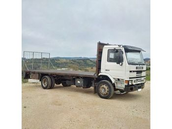 SCANIA 93M 210 left hand drive on full springs suspension - Pritsche LKW