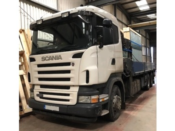SCANIA R480 6X2 Rear Lift Axle with HIAB Crane - Pritsche LKW
