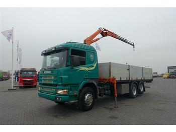 Pritsche LKW Scania 124.400 6X2 FULL STEEL WITH FERRARI 0872