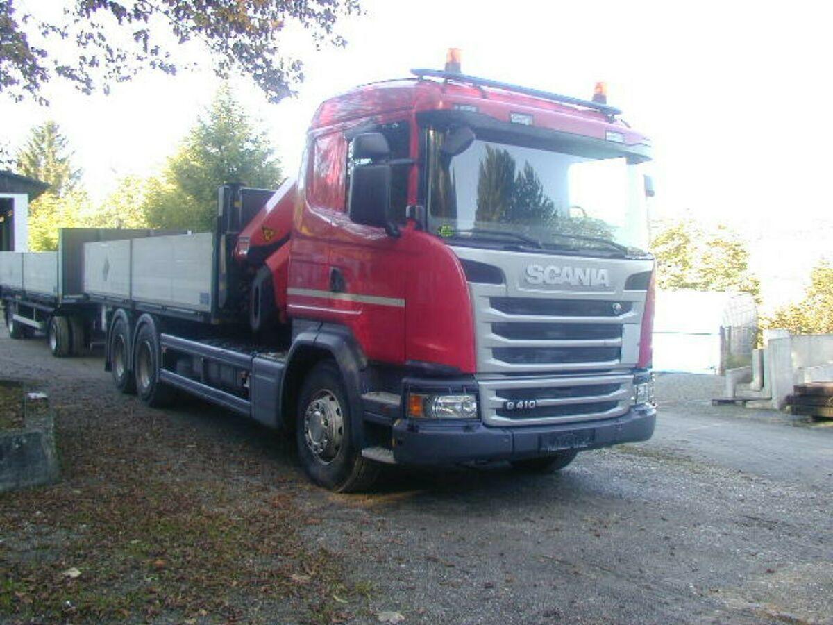 Pritsche LKW Scania G410