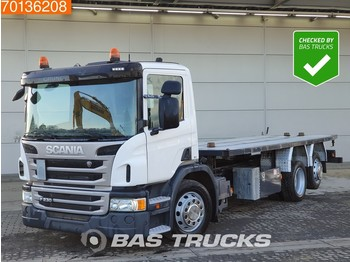 Scania P230 6X2 Lift / Steering Axle Hydraulic Euro 5 - Pritsche LKW