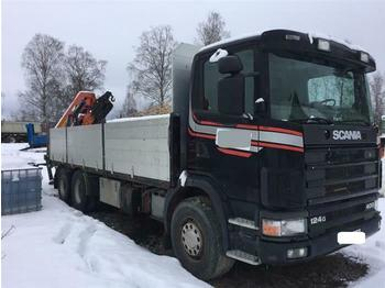 Scania R124.400 - SOON EXPECTED - 6X2 MANUAL FULL STEEL  - Pritsche LKW