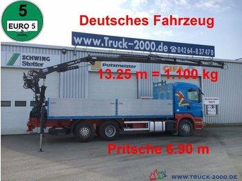 Pritsche LKW Scania R400 Tirre Euro 191L 9m=1,7t. 7m Ladefl. 1.Hand