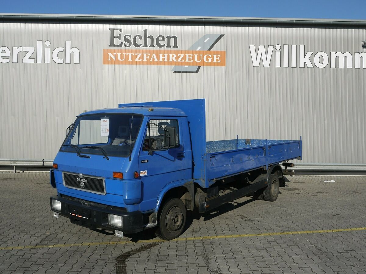 Pritsche LKW Volkswagen MAN 8.150 Pritsche*Schalter*3 Sitze*AHK*Blatt