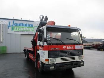 Pritsche LKW Volvo FL7 - platform + crane
