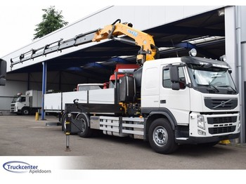 Volvo FM 500, Effer 25 t/m, Retarder, Reduction axle, 6x2, Euro 5, Truckcenter Apeldoorn - Pritsche LKW