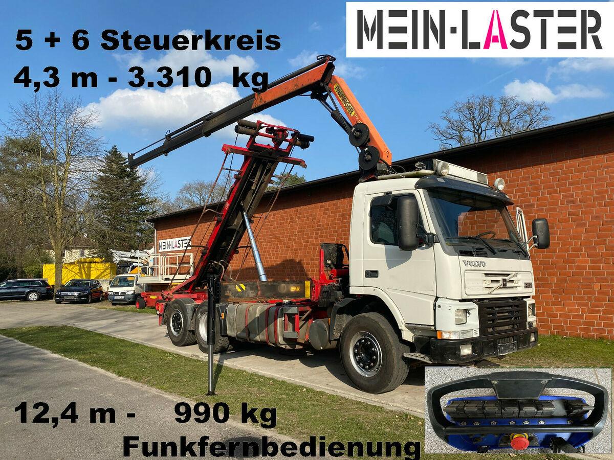 Seil Abrollkipper Volvo FM 12-420 PK 16502 C 12m - 1.000 kg Funk FB