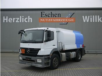 Tank LKW Mercedes-Benz 1824 L Axor-R, Esterer A3 Bj. 09, 2 Kammer, LGBF